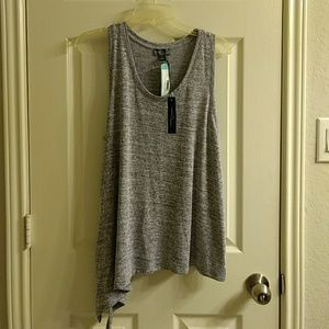 Side slit tank top nwt